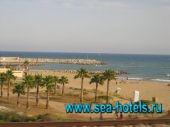 Берег Средиземного моря в  Испании 1